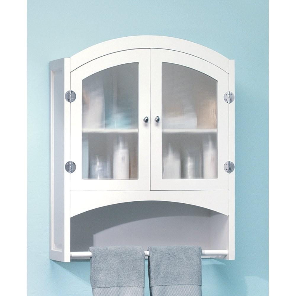 White Bathroom Wall Cabinet Design Mirror Wellbx