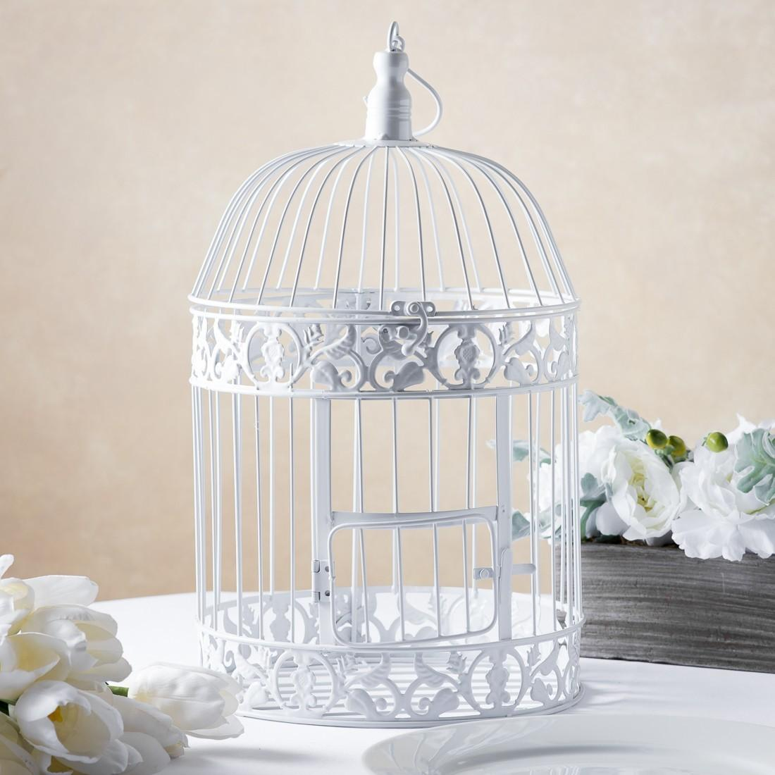 White Bird Cages Weddings