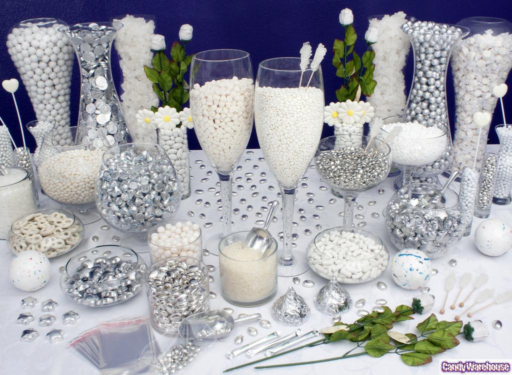 White Candy Buffet Simple Pure These Exquisite