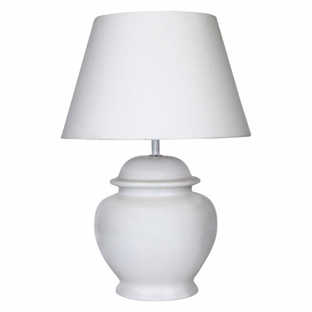 White Ceramic Lamp Lighting Furniture Design