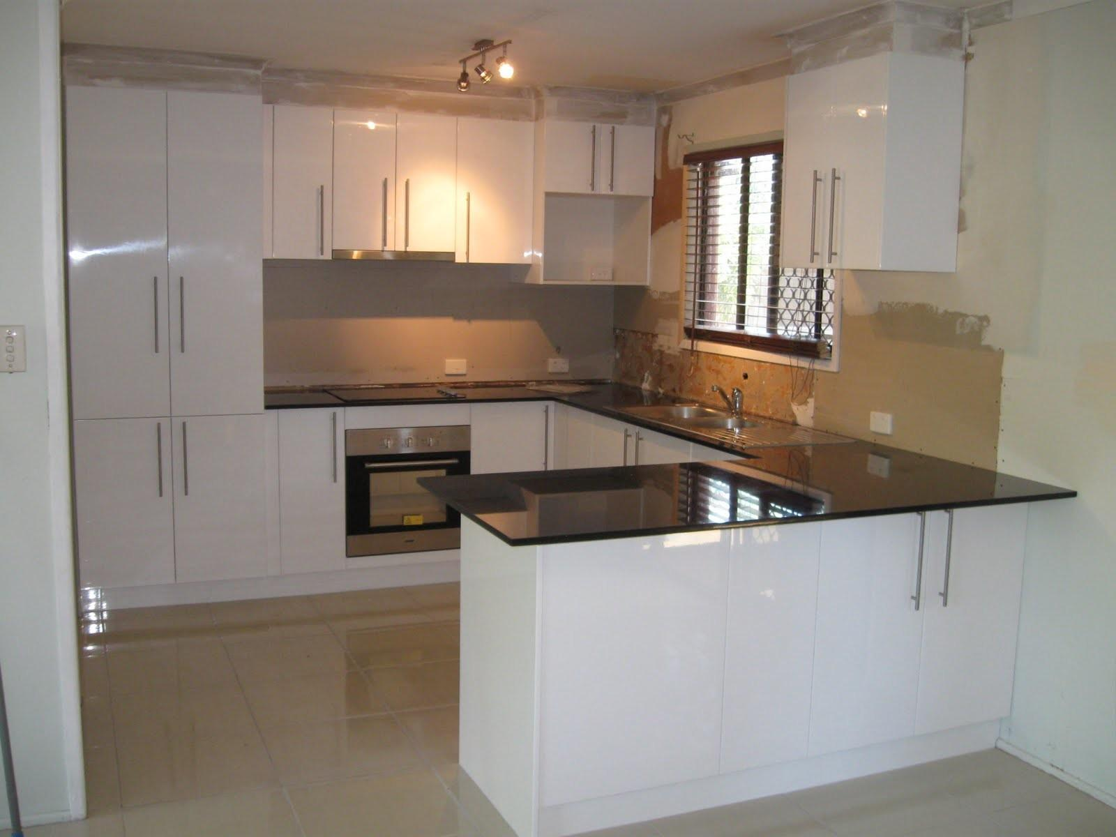 White Contemporary Kitchen Floors Remodel Ideas