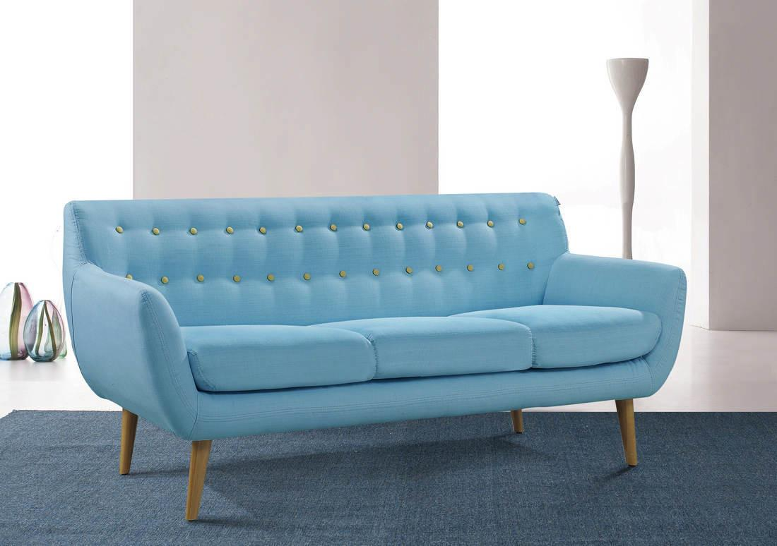 White Danish Modern Couch Prefab Homes Design Your Own