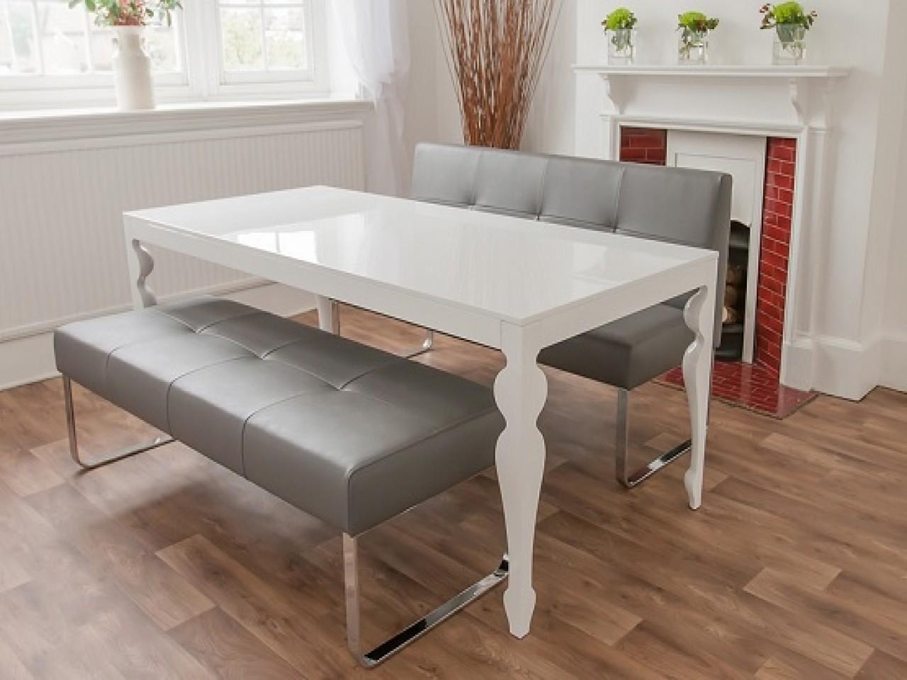 White Dining Table Matches Any Theme Your Room
