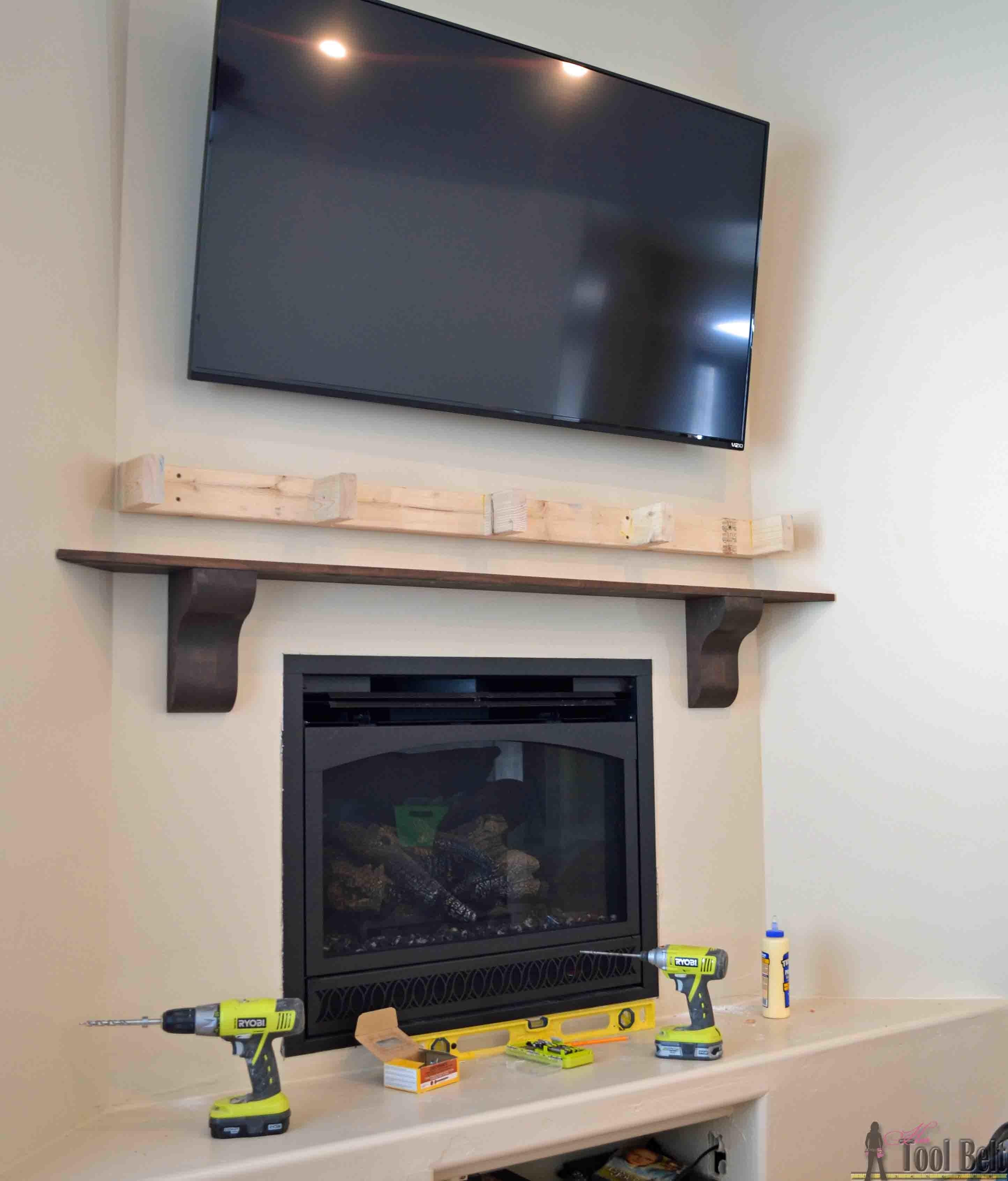 White Fireplace Surround Lights Fireplaces