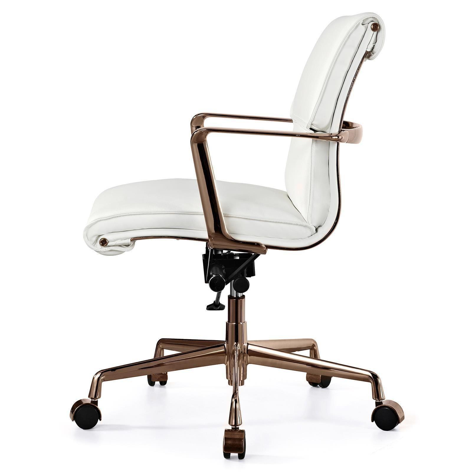 White Gold Office Chair Decor References