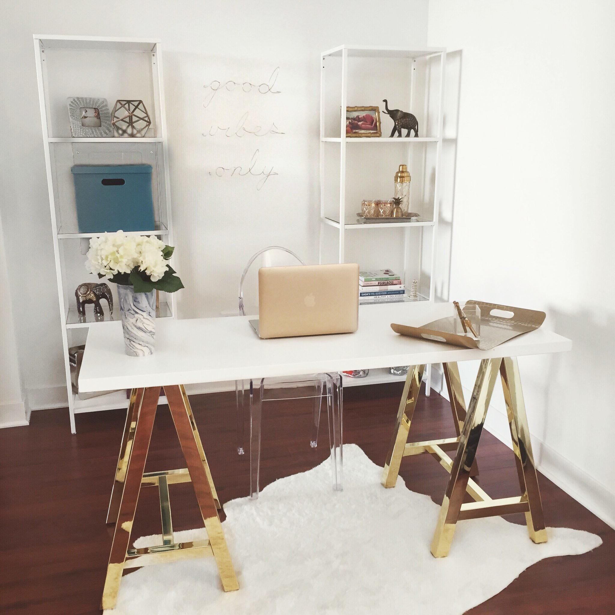 White Gold Offices Elegant Inspirational Workspace