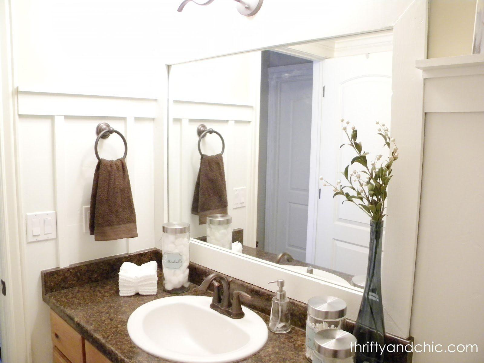 White Guest Bathroom Thrifty Chic Diy Projects Home
