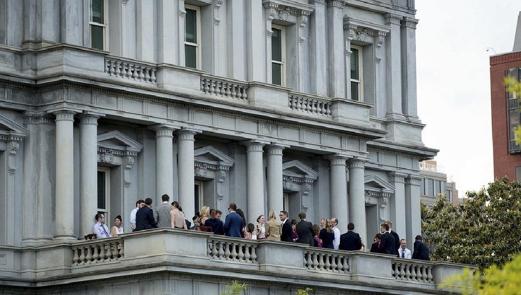 White House Aides Caught Drinking Balcony After Long Week