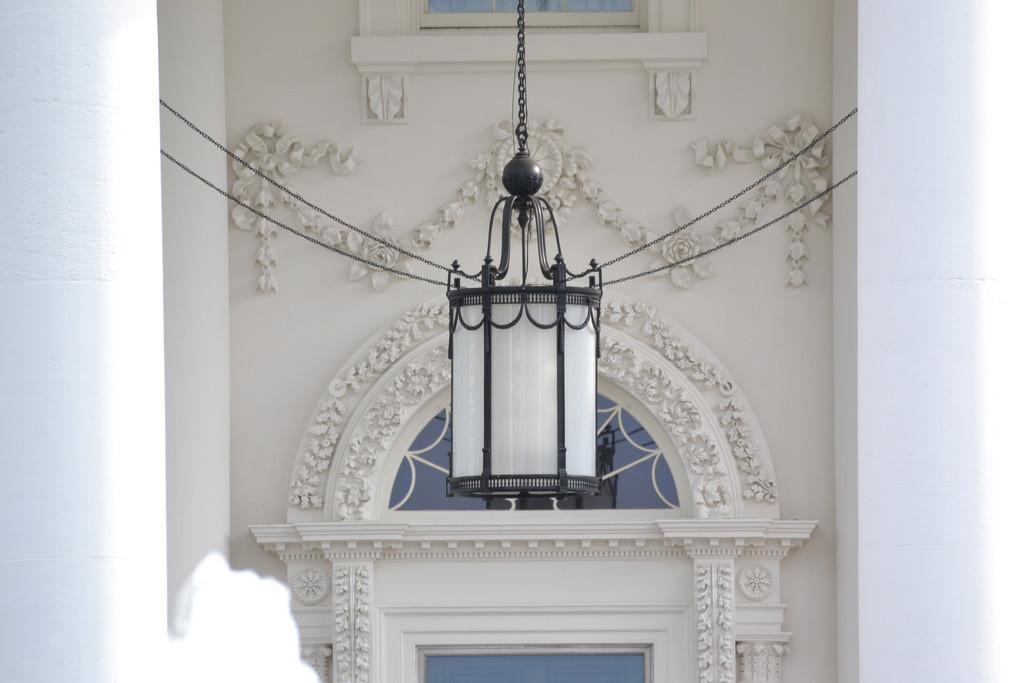 White House Front Porch Hanging Light