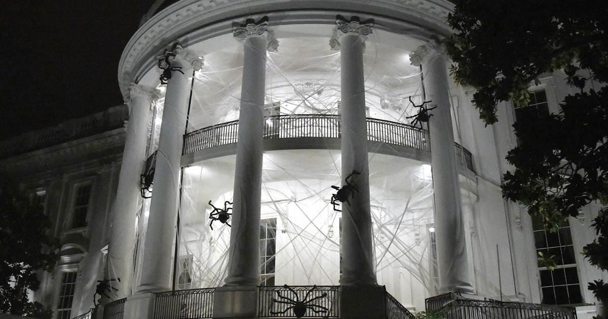 White House Gets Creepy Halloween Nbc News