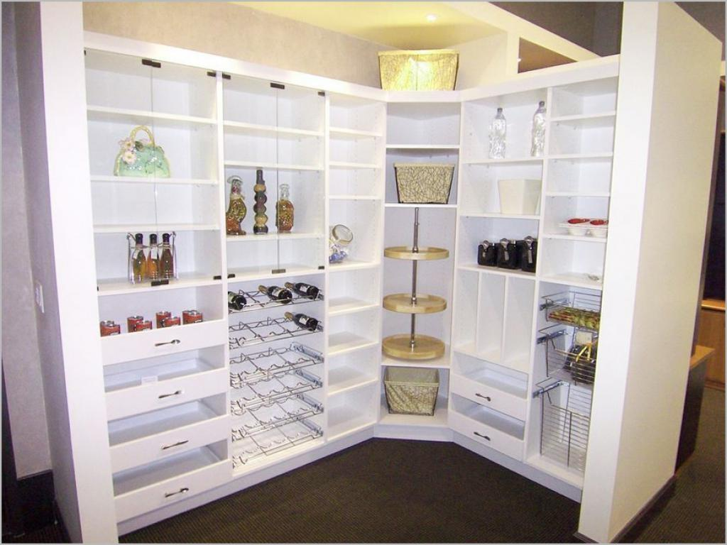White Kitchen Pantry Cabinet Luxury Living Room Minimalist