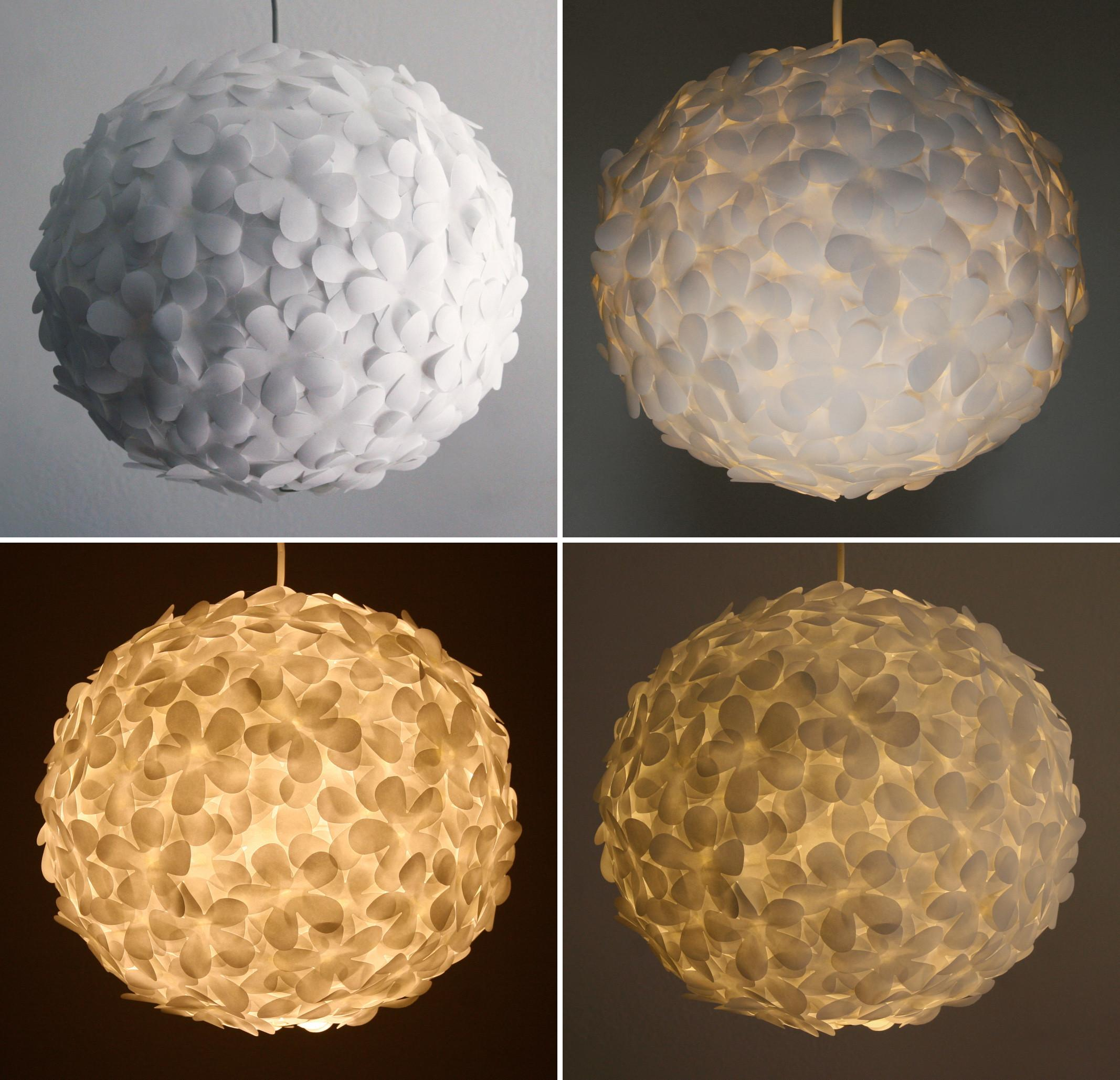 48 Ingenious Diy Cute Flowers Lampshade That Are Simply Flawless Images Decoratorist