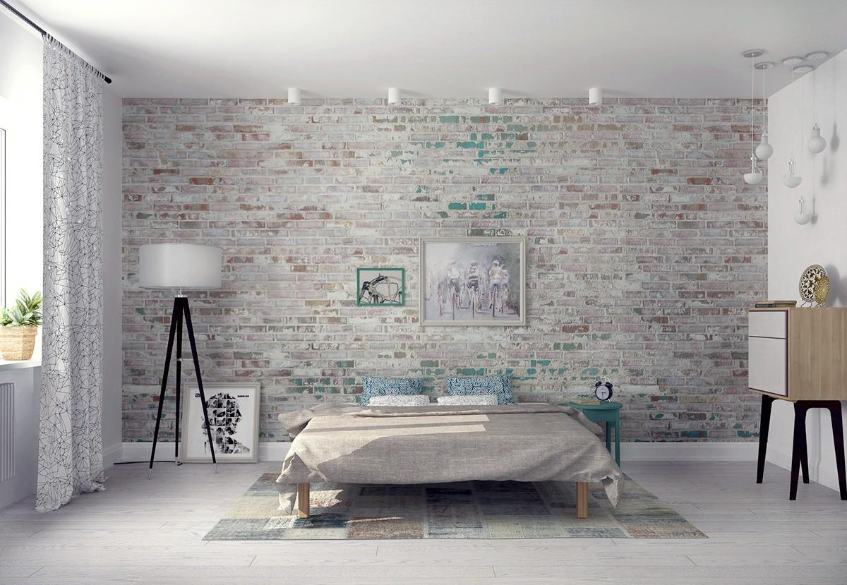 Whitewashed Brick Interior Best Way Add Texture