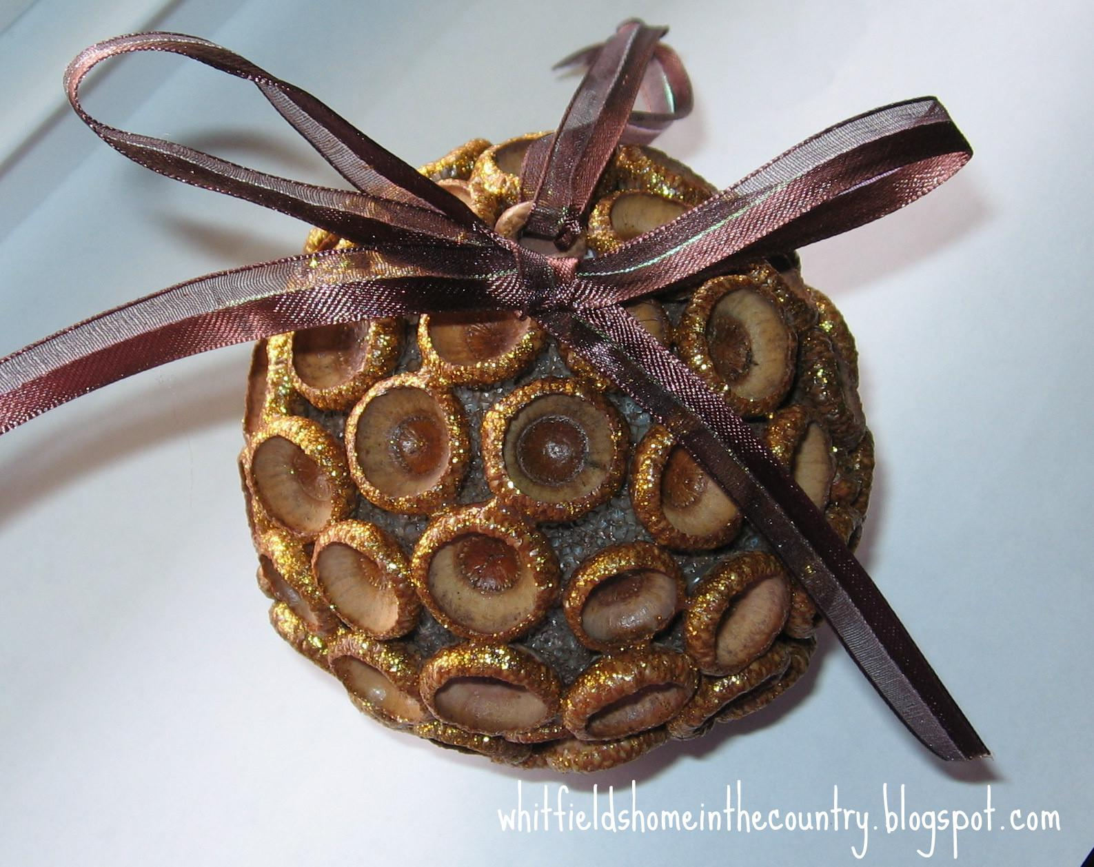Whitfield Home Country Diy Pretty Acorn