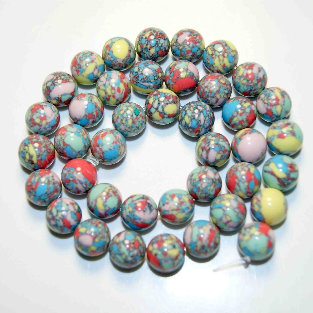 Wholesale 12mm Natural Stone Beads Colorful