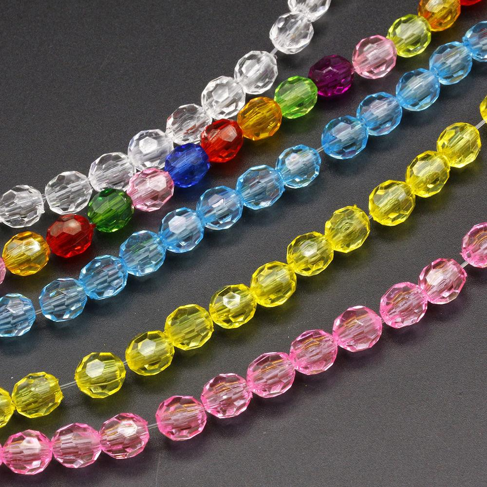 Wholesale Colorful Small Crystal Loose Beads Jewelry