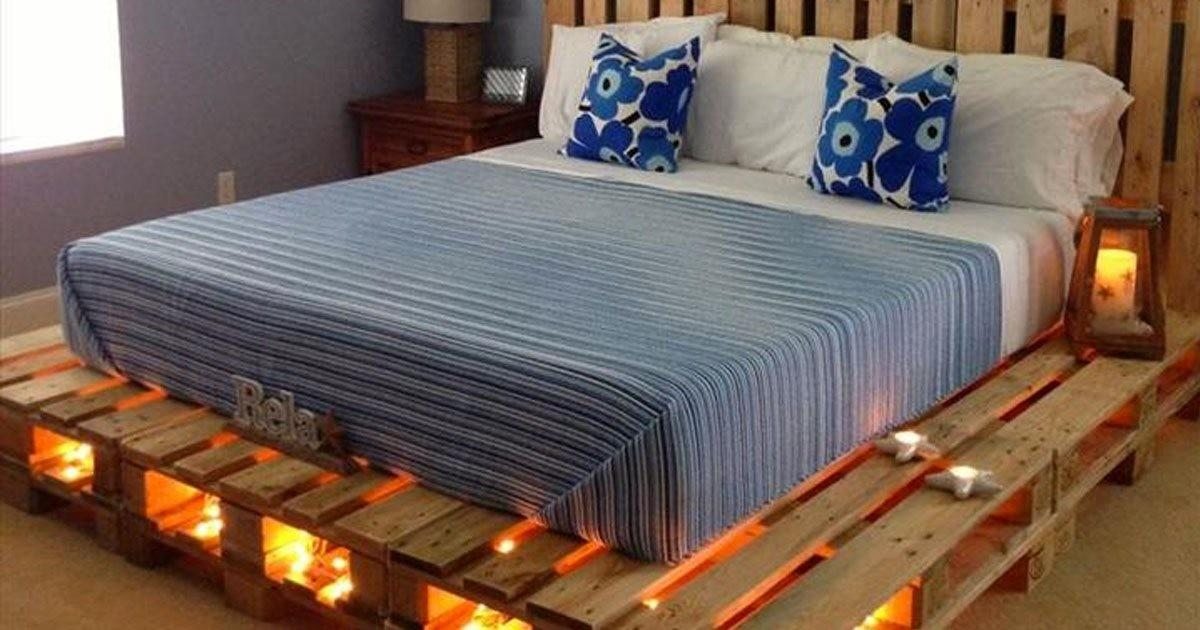 Why Buy Bed Can Pallets Make One Here