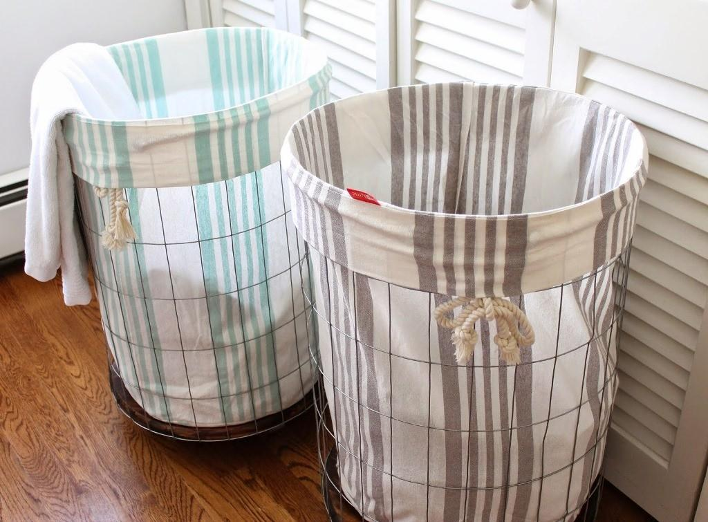 Wicker Laundry Basket Liner Sierra