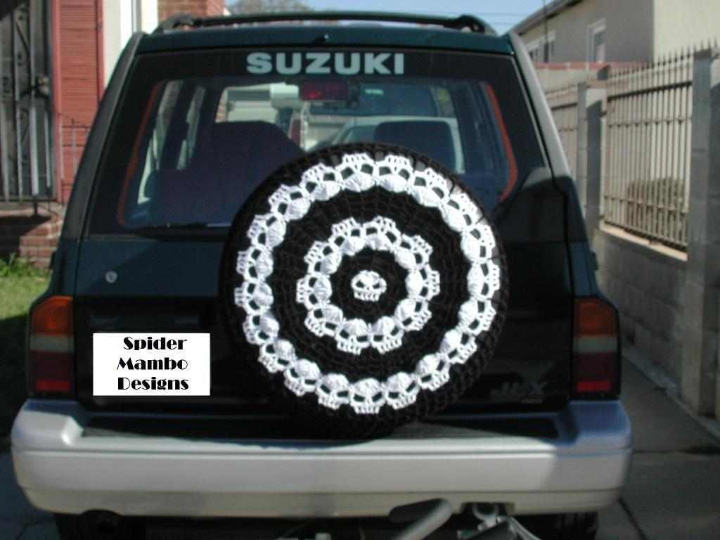 Wikked Wheels Spare Tire Cover Annierobi Craftsy