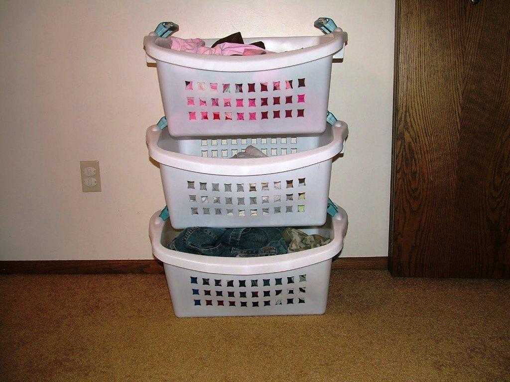 Wilko Flexible Laundry Basket Sierra