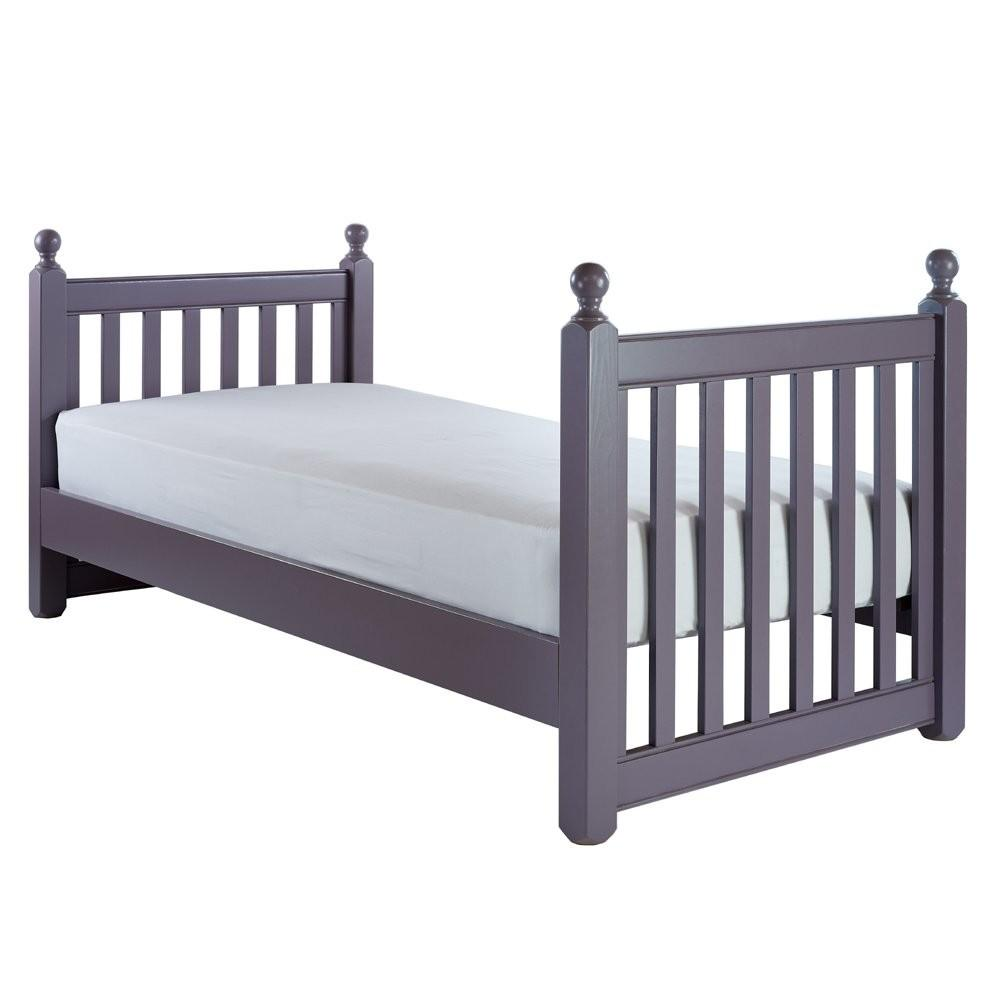 Willow Single Slat Bed High Foot End Kids Painted