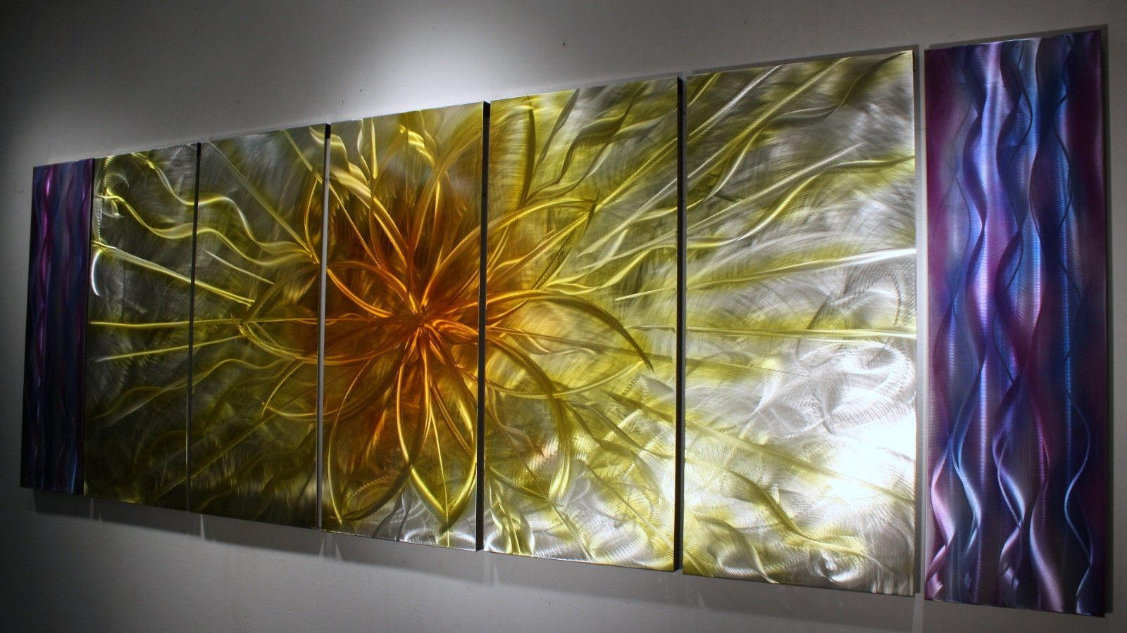 Wilmos Kovacs Abstract Painting Metal Sculpture