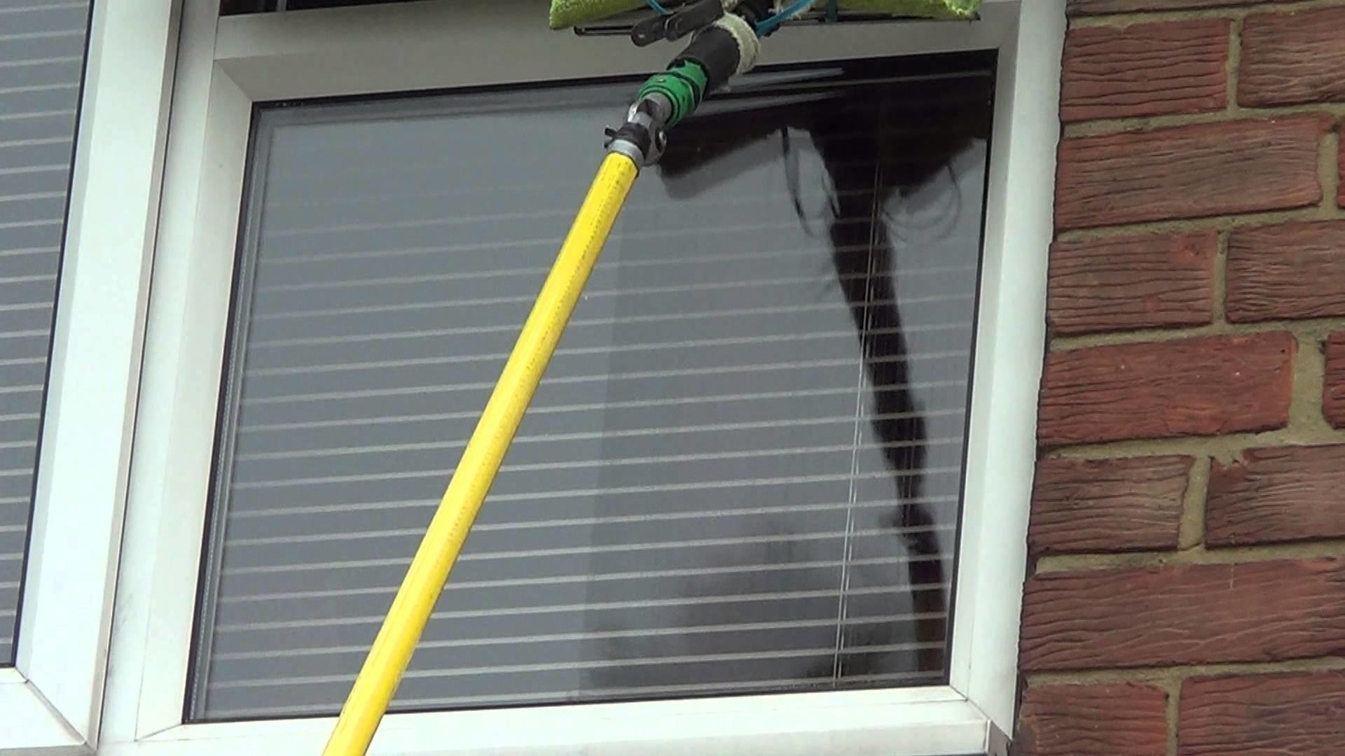 Window Cleaning Tips Using Wagtail Pole