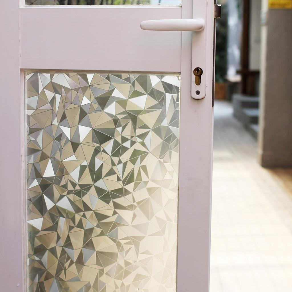 Window Films Stained Glass Panels Vinyl Static Privacy Cut