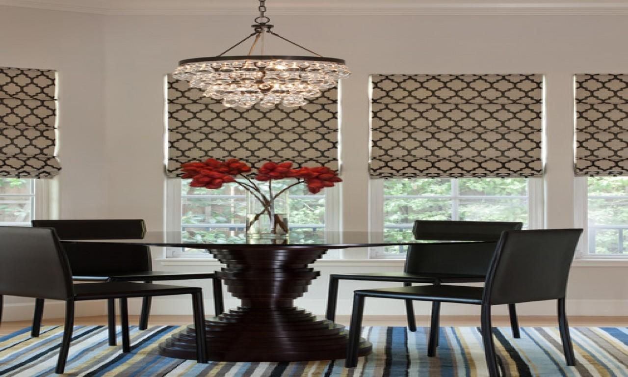 Window Treatment Ideas Dining Room Sunroom Windows