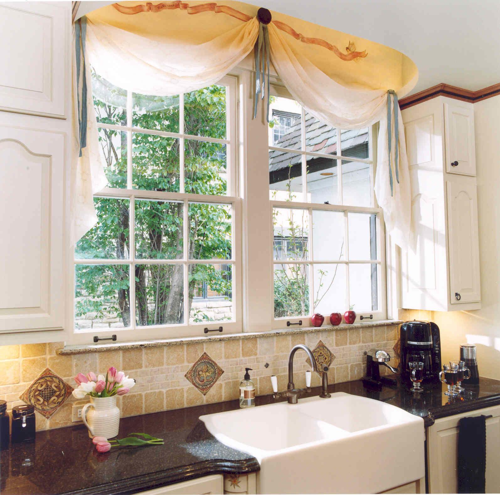 Window Treatment Kitchen Over Sink