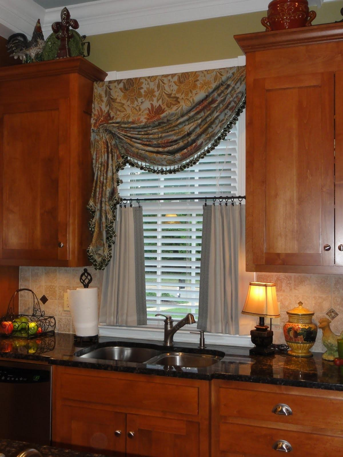 Window Treatments Kitchen 2017 Grasscloth