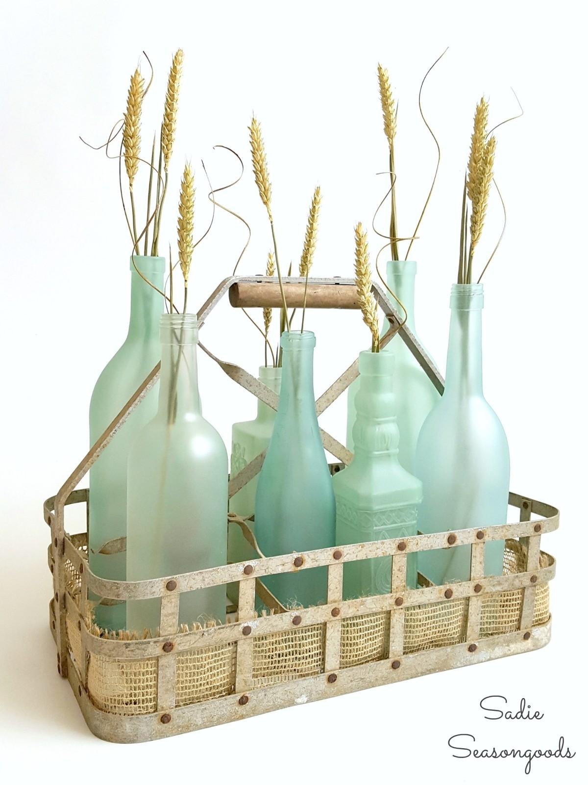 Wine Bottle Centerpieces Budget Friendly Looking Chic