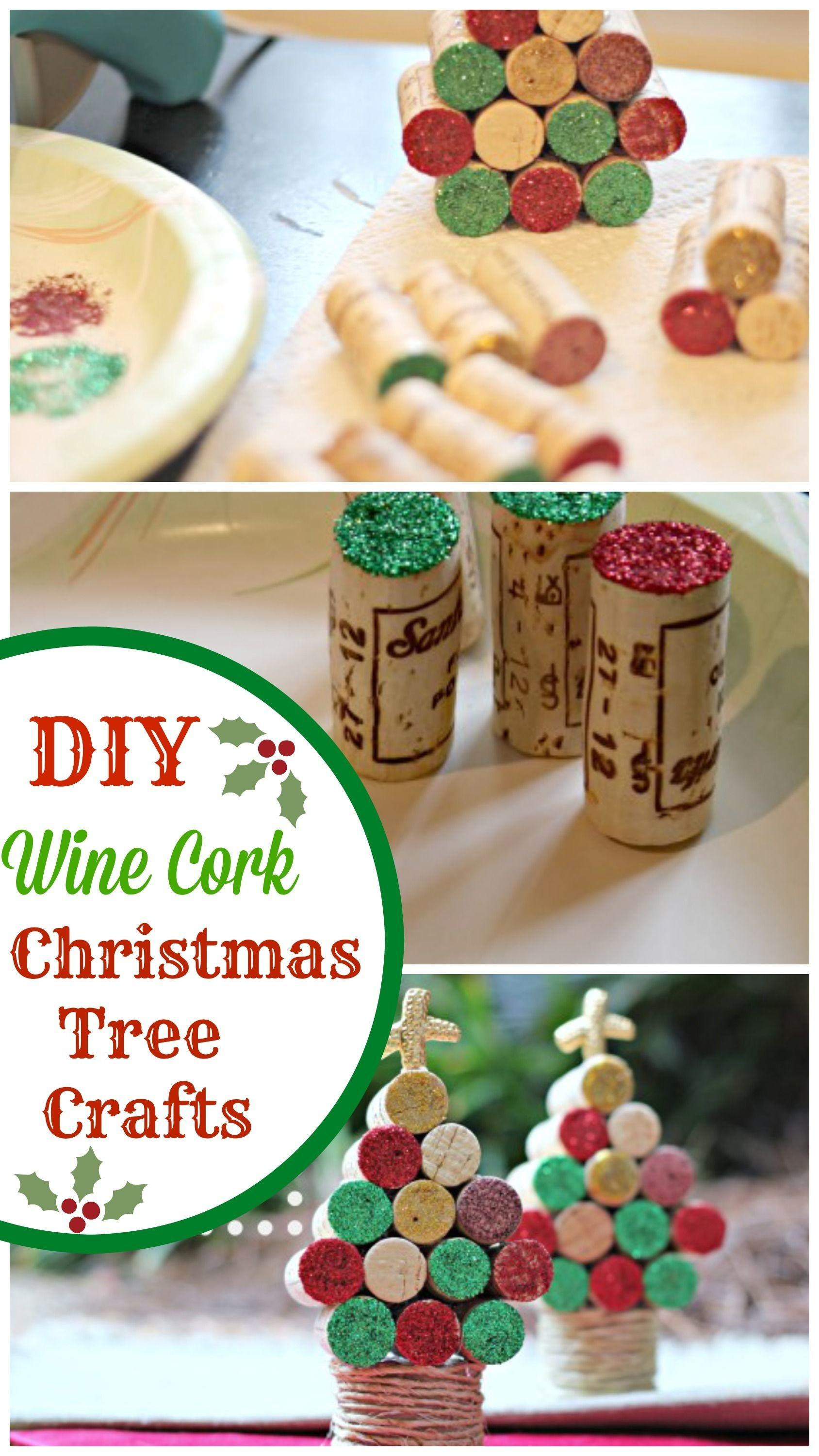 Wine Cork Christmas Tree Crafts Photos