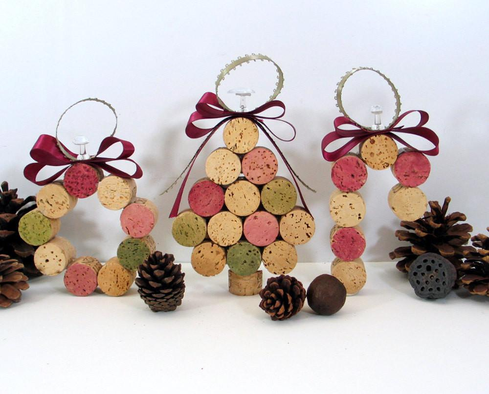 Wine Cork Ornaments Corks