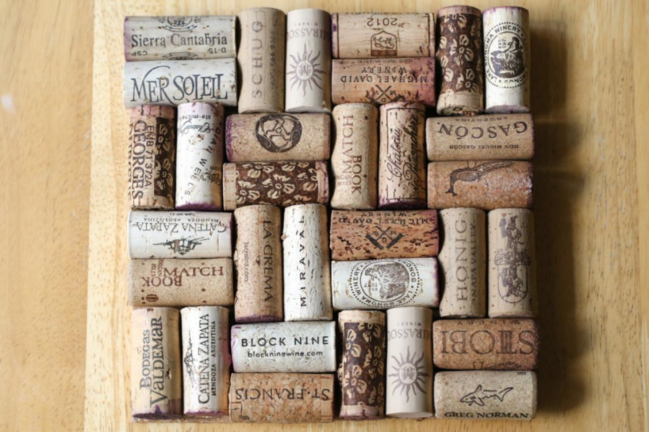 Wine Cork Trivet Tutorial Diy Network Blog Made