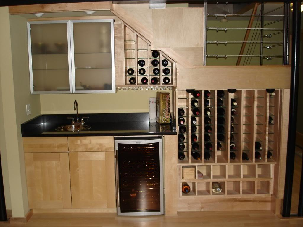 Wine Racks Under Stairs Storage Cabinets