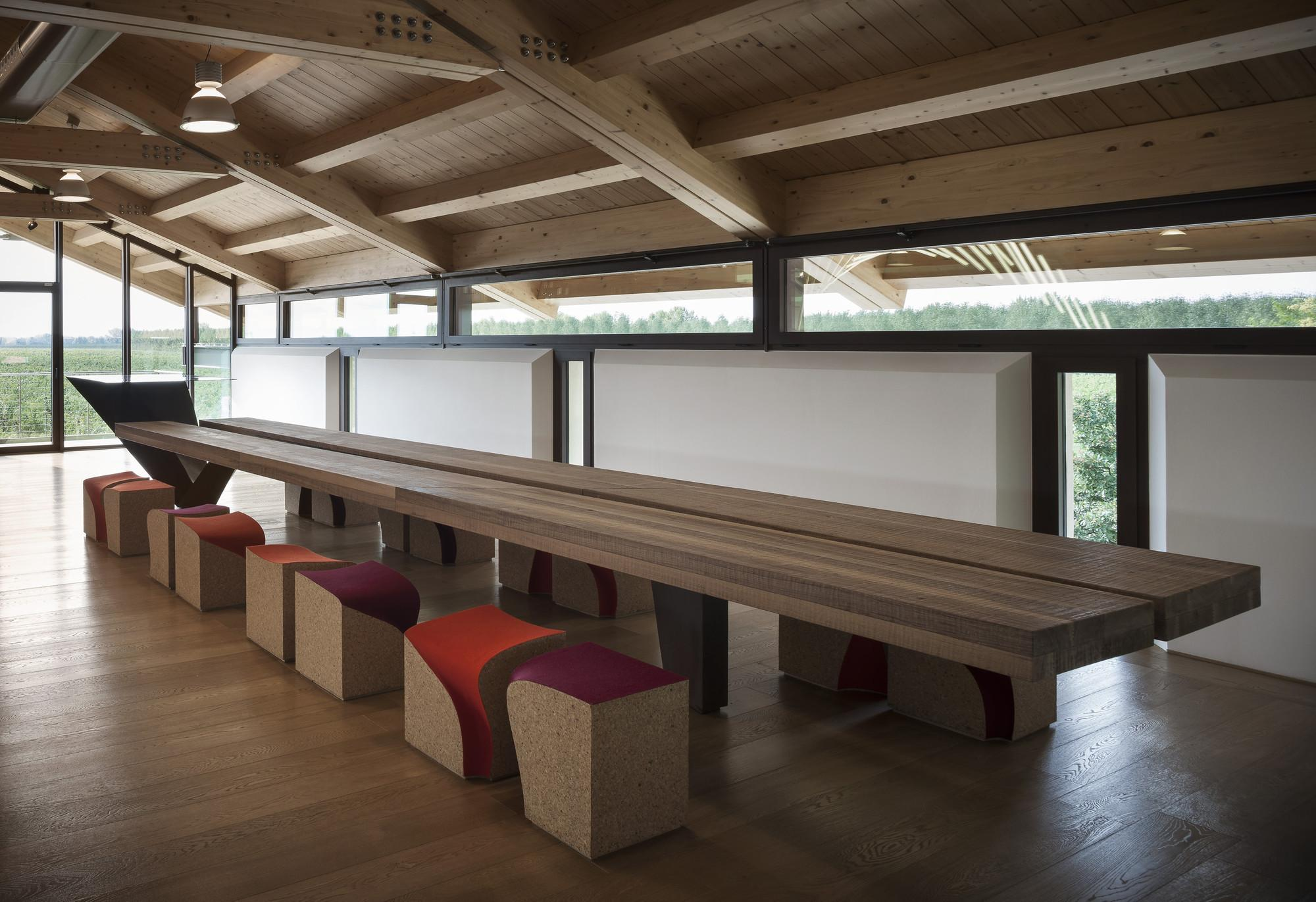 Wine Tasting Room Monde Alessandro Isola Archdaily