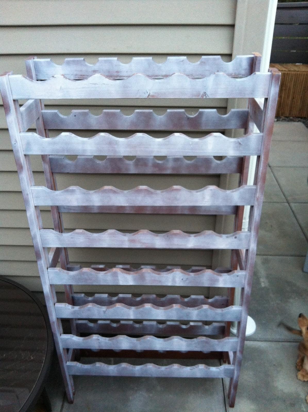 Wine Thirty Rack Makeover