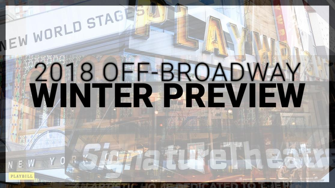 Winter 2018 Broadway Preview Playbill