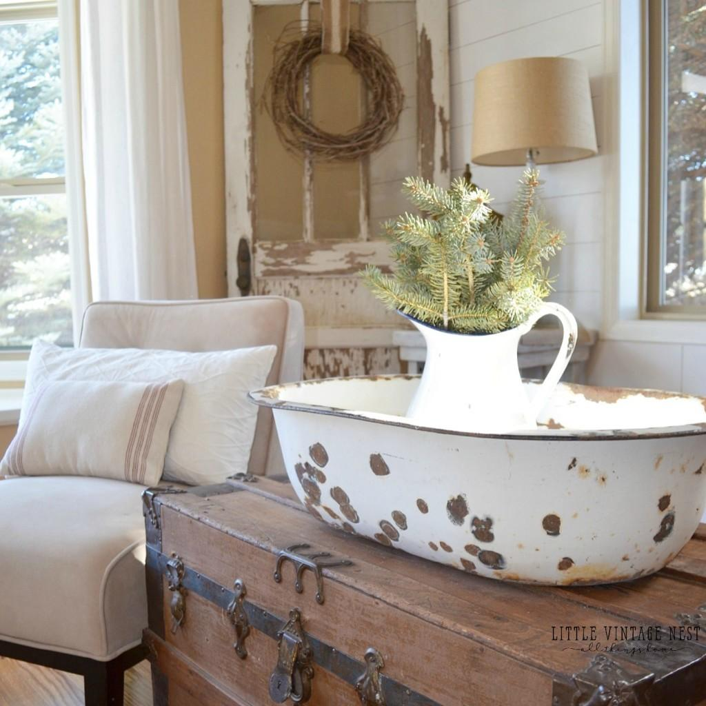 Chambre Style Shabby Chic gorgeous winter style decorating that you can make for free