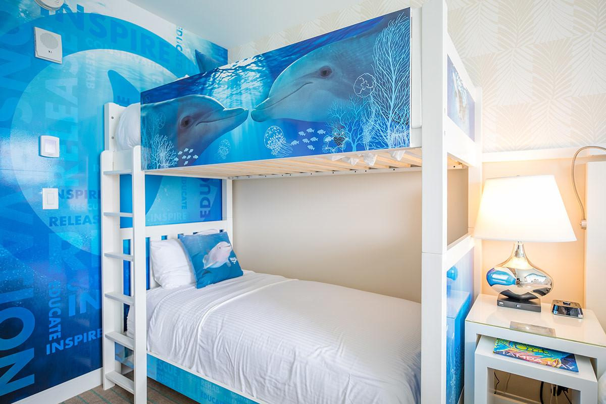 Winter Dolphin Themed Rooms Clearwater Marine Aquarium