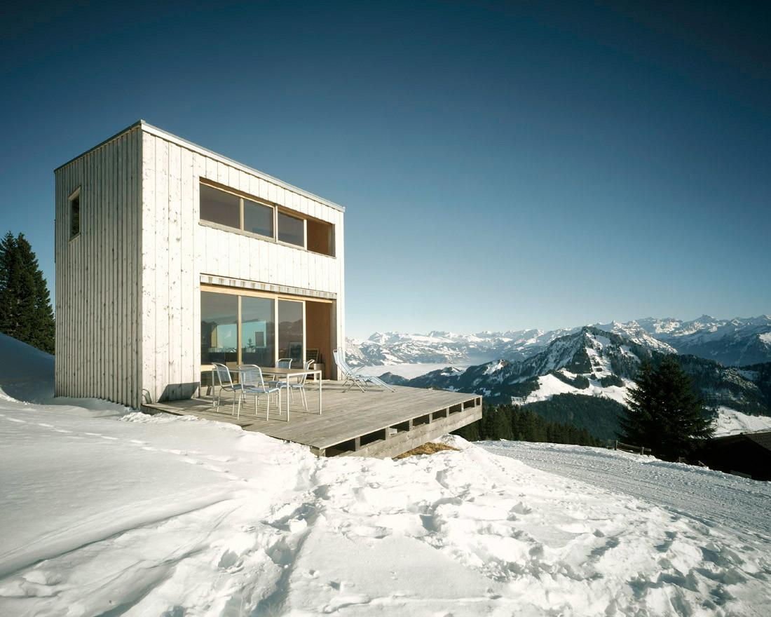 Winter House Alps Afgh Architects Home