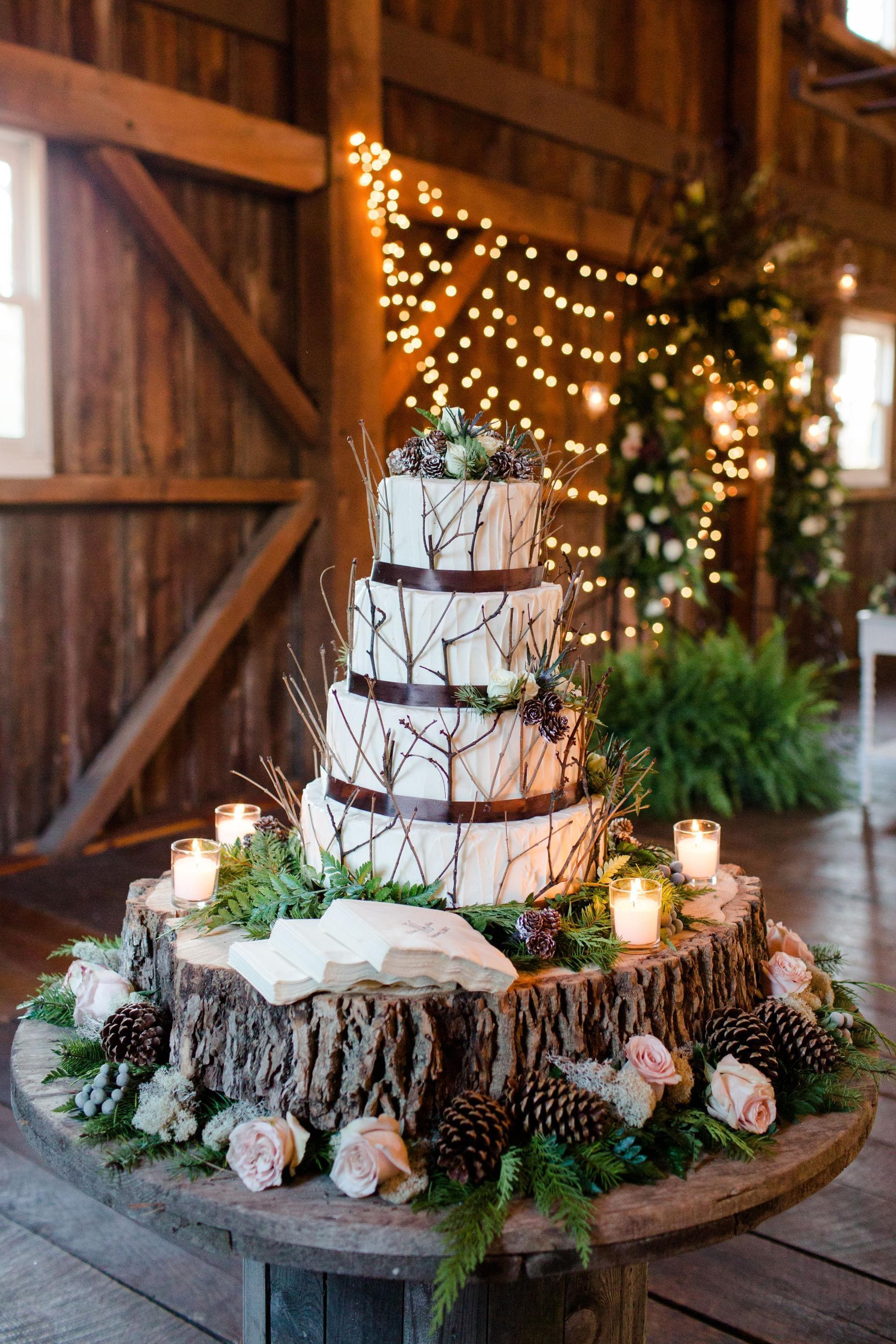 Winter Inspired Rustic Glamour Noblesville
