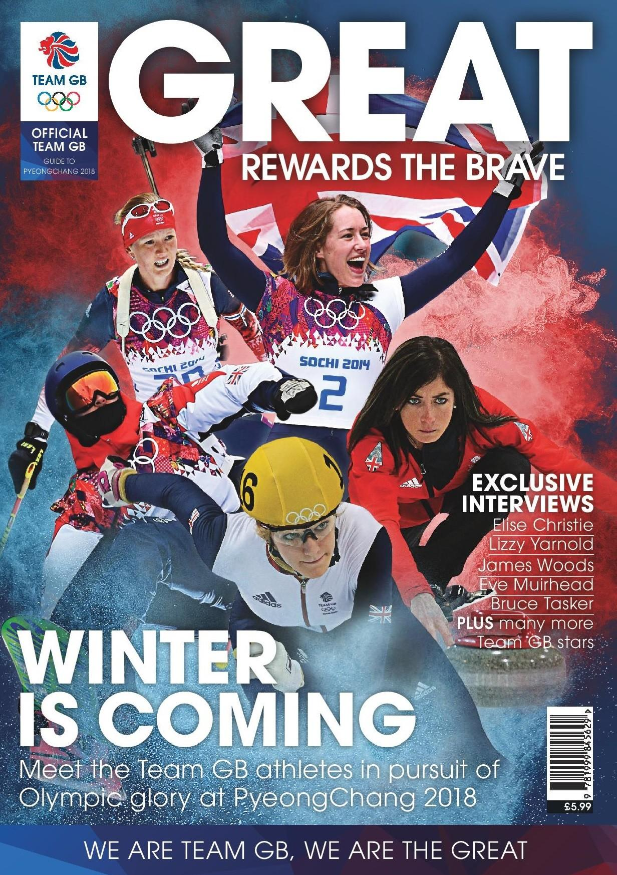 Winter Olympics Preview Guide 2018 Programme Master