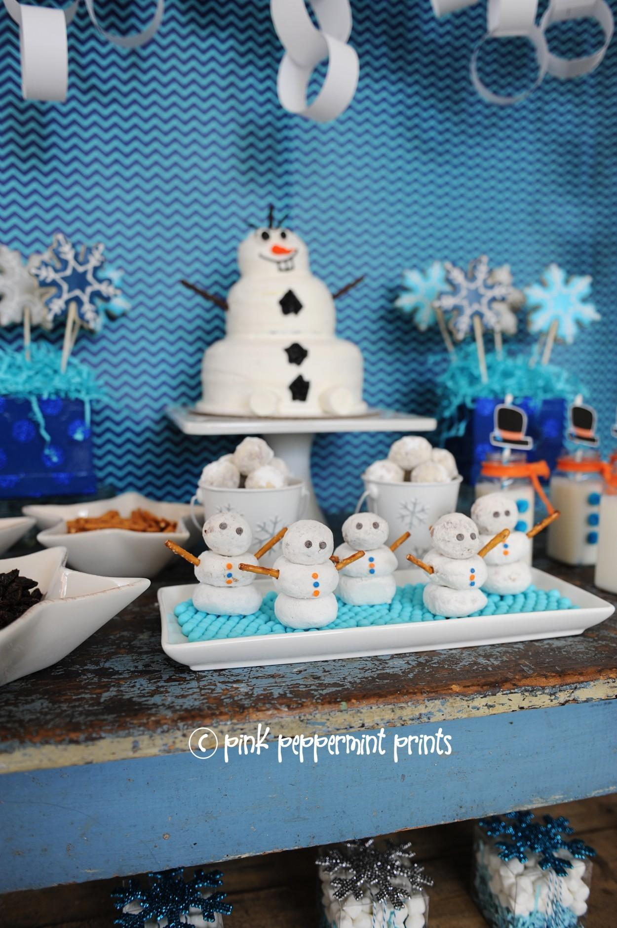 Winter Snow Parties Disney Frozen Movie Inspired