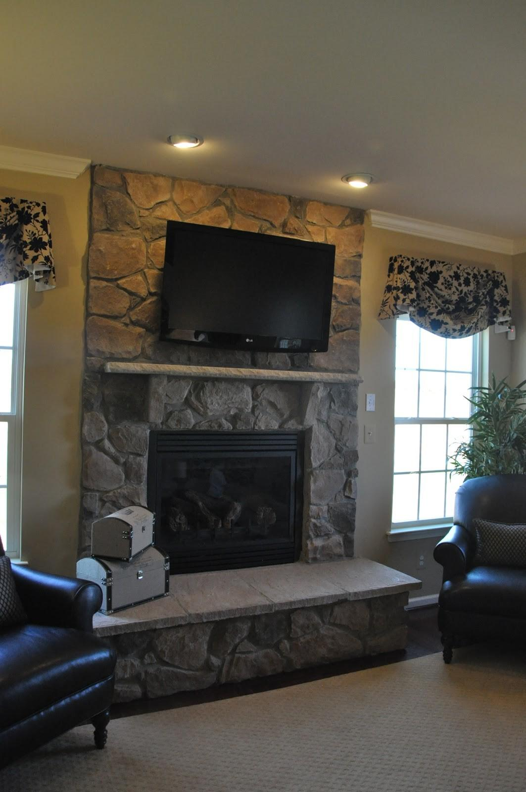 Wiring Above Fireplace Get