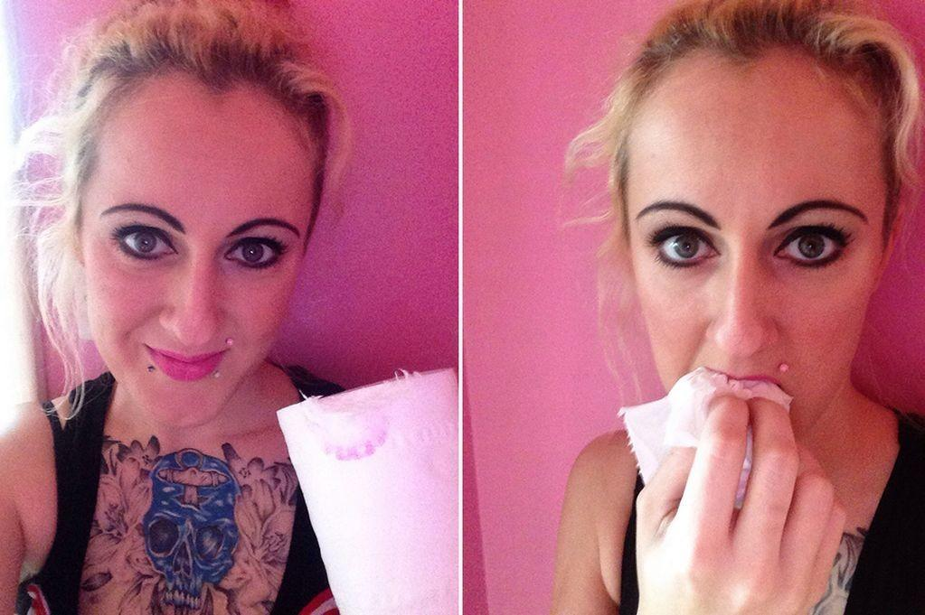 Woman Can Stop Eating Toilet Paper Says Like