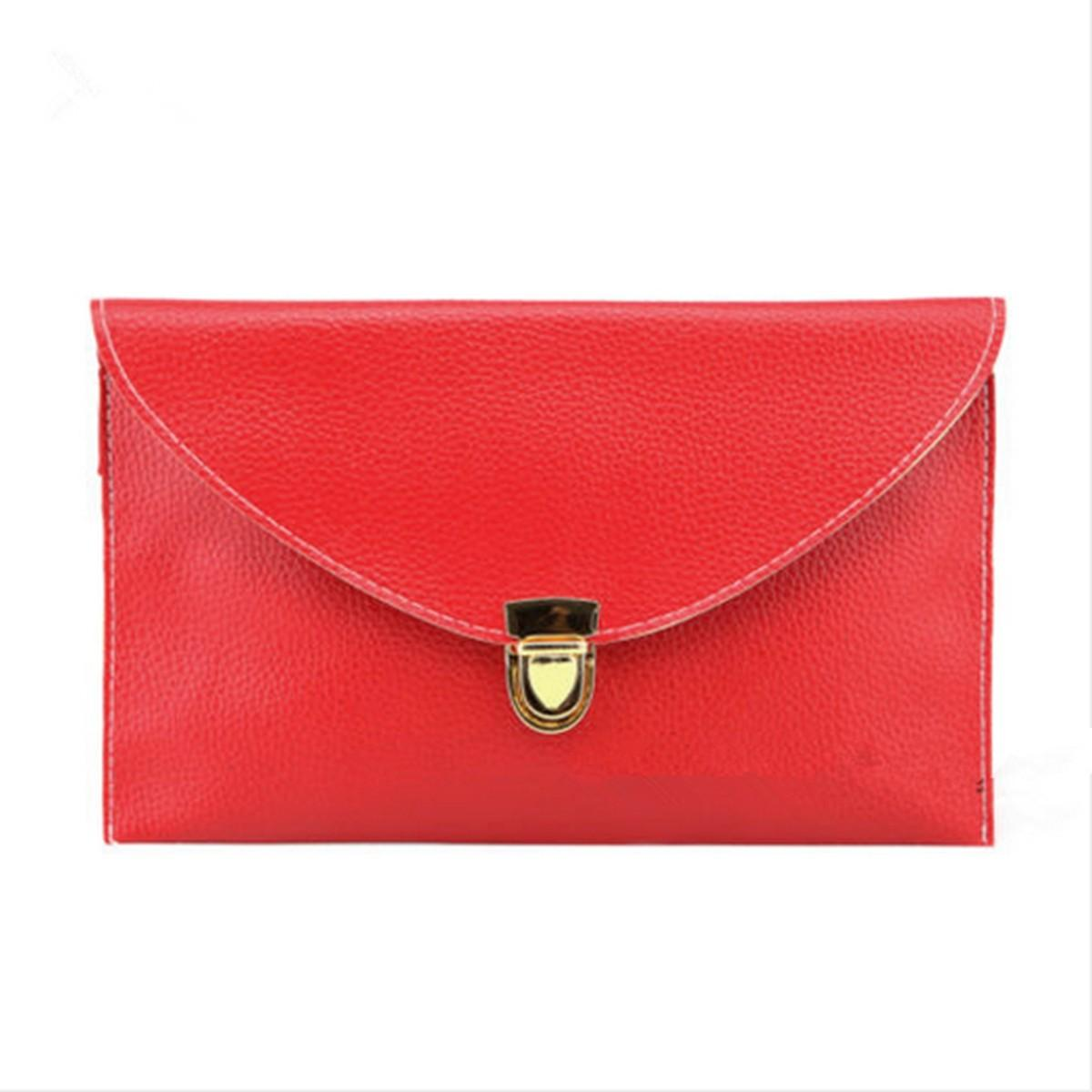 Women Fashion Evening Hand Bag Envelope Clutch Shoulder