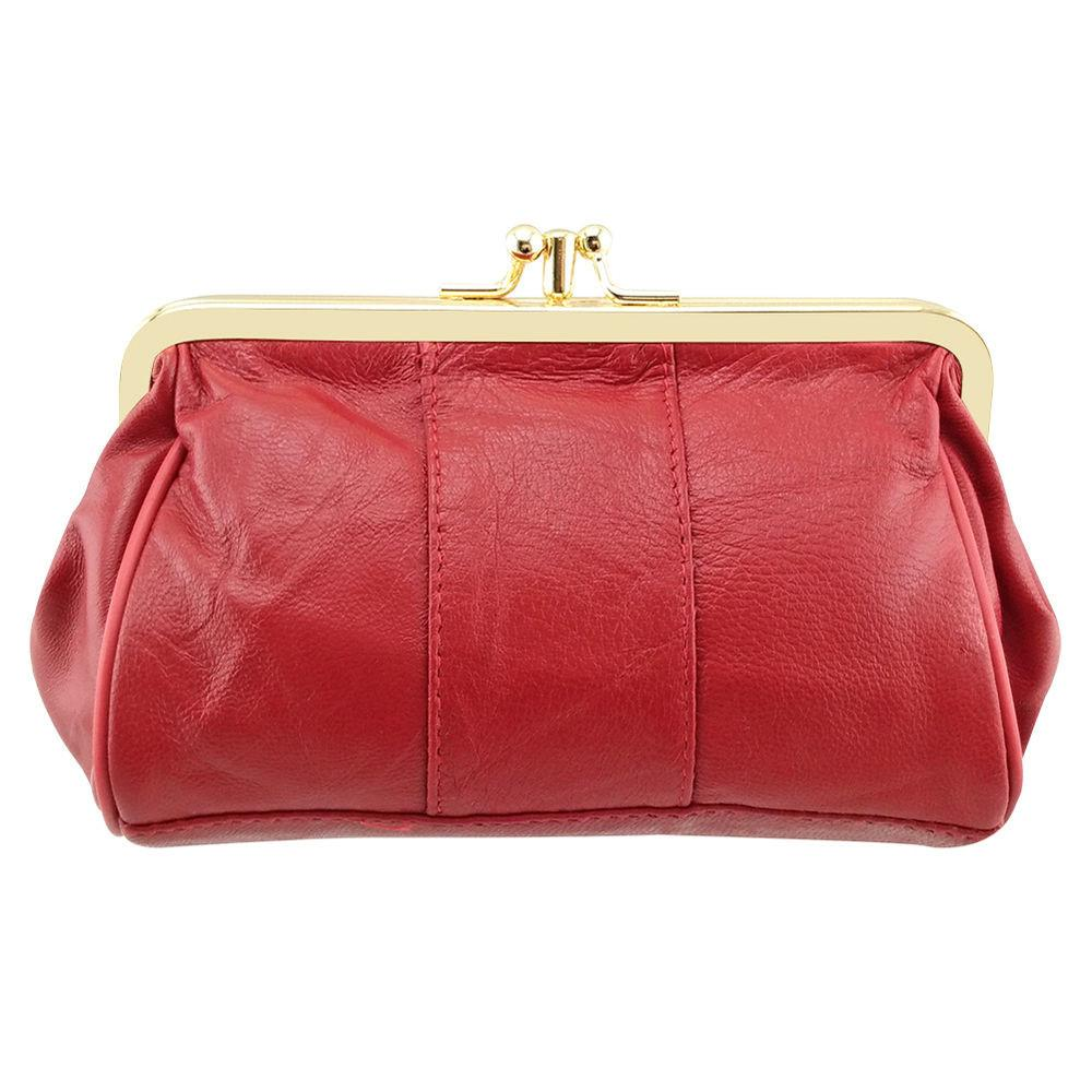 Women Genuine Leather Wallet Long Clutch Purse Coin
