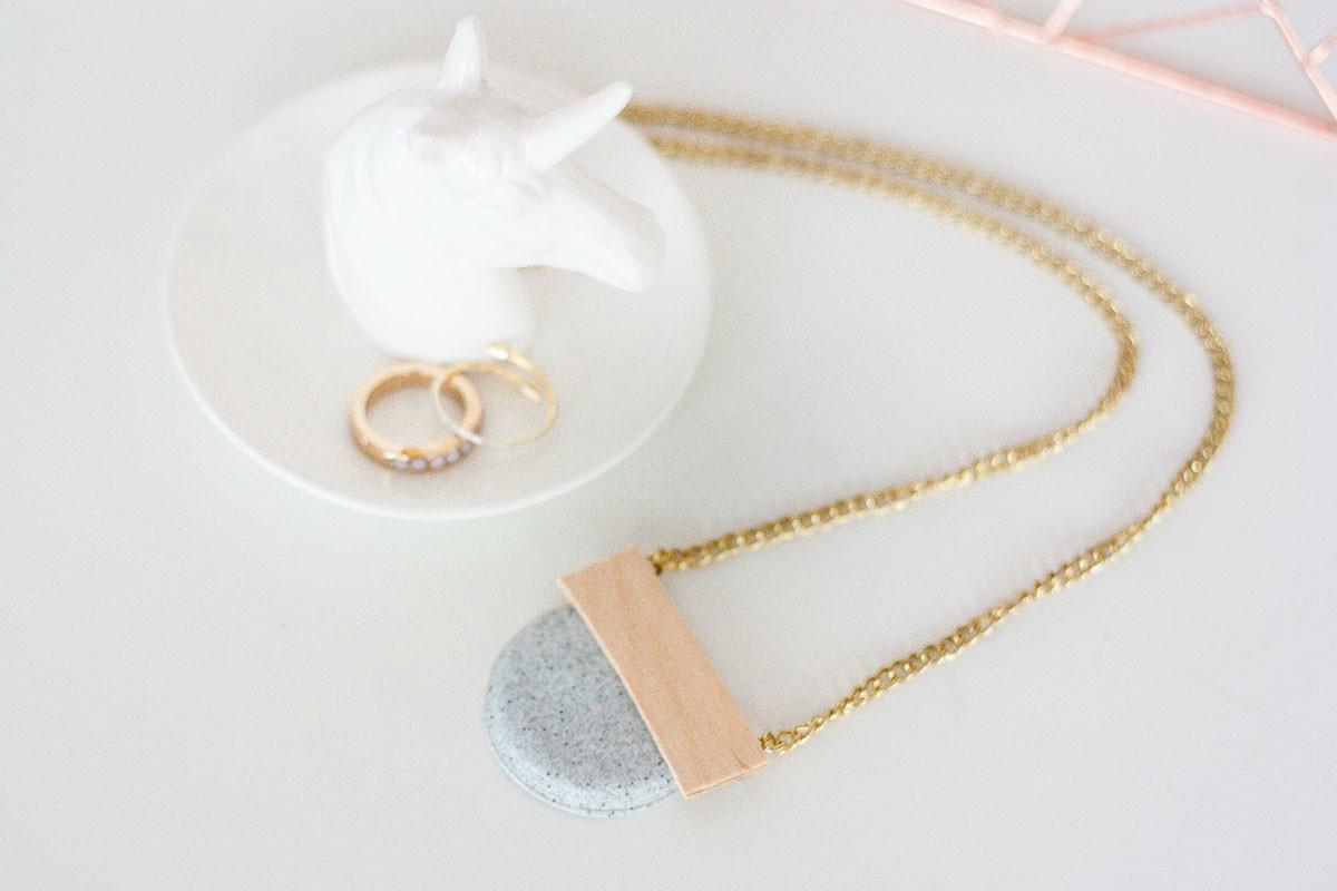 Won Believe Diy Geometric Necklace Made